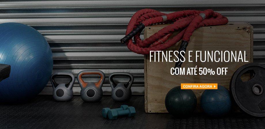 Fitness e Funcional até 50% OFF